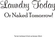 laundry today